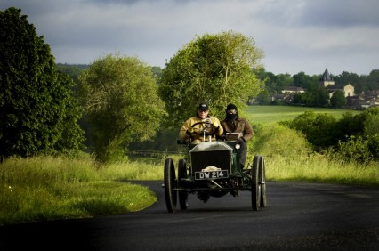 The 1903 Napier at the 2014 Paris-Madrid Rally (image courtesy of Activfoto)