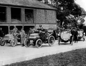 1000 Mile Trial 1900 John Scott Montagu in 1899 Daimler B973