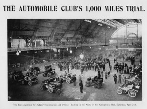 Pre start 1000 mile trial 1900